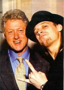 Kidrock et Bill Clinton