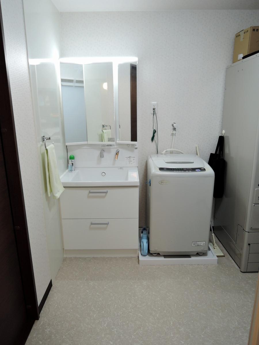 施工後 洗面脱衣室