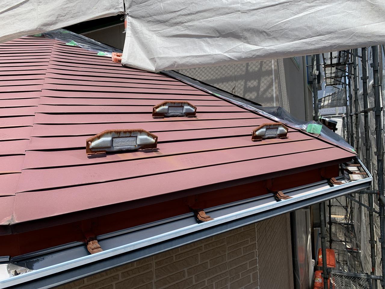 屋根ガルバの色褪せ・雪止めサビ