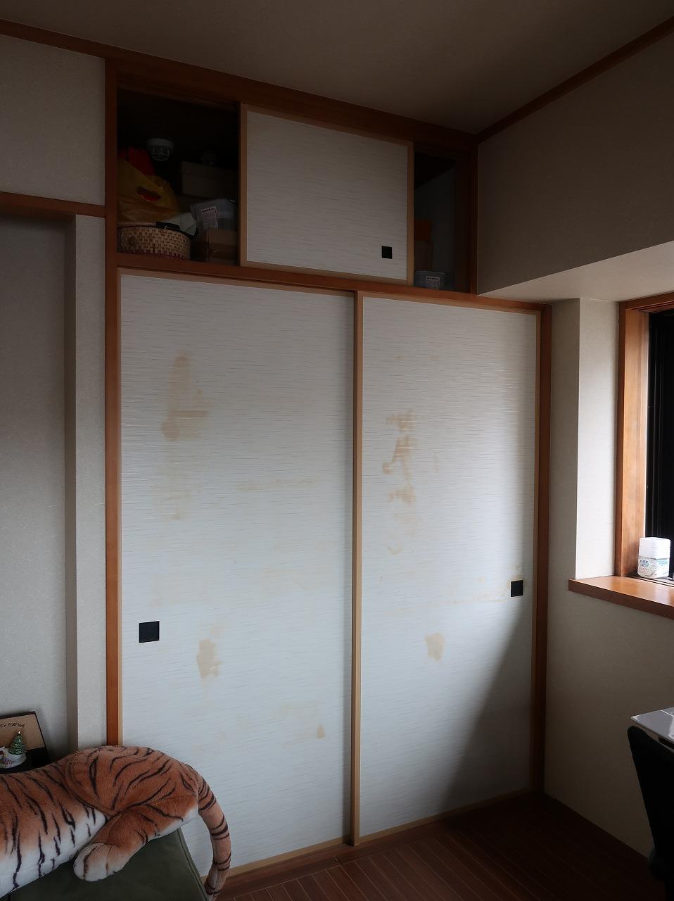 Before 和室(押入れをクロゼットに)