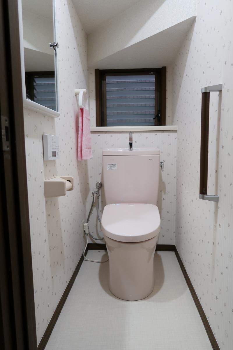 施工後 1Fトイレ