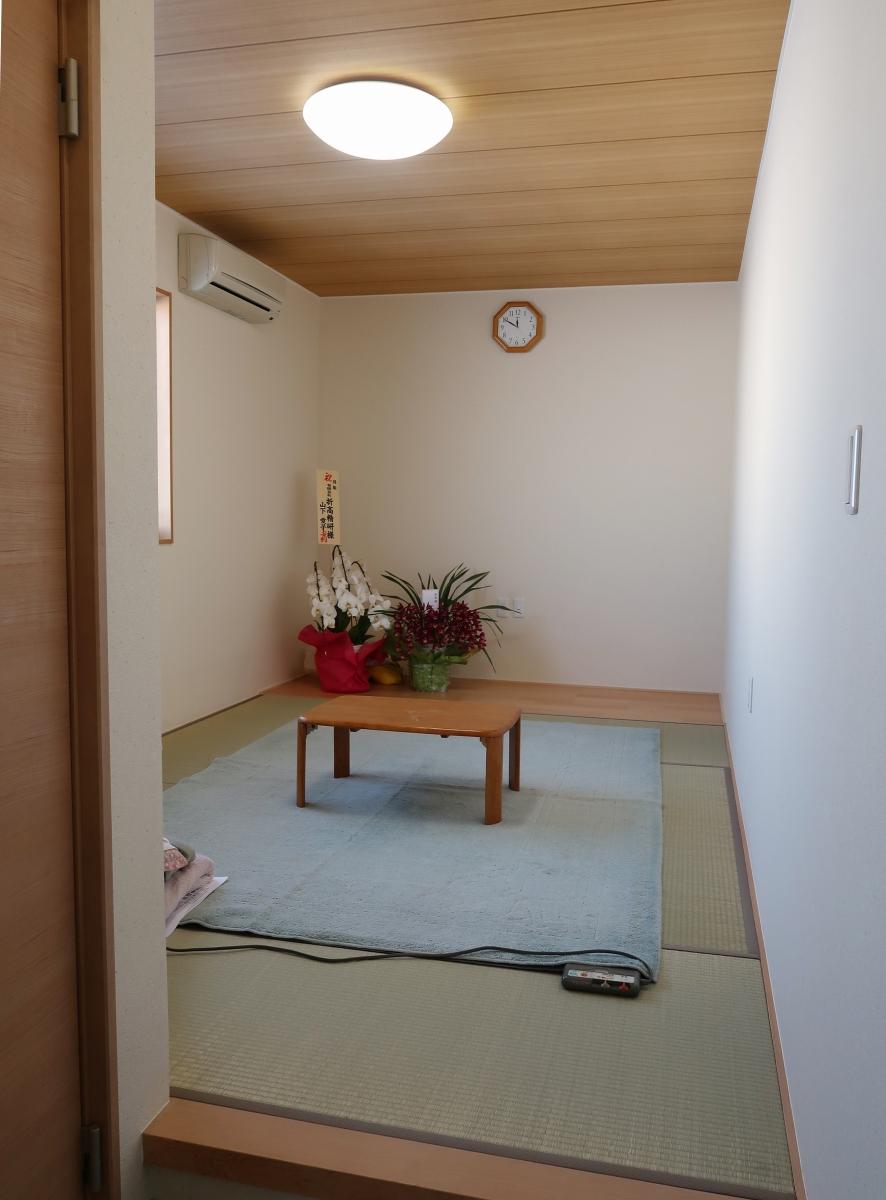 完工 休憩室