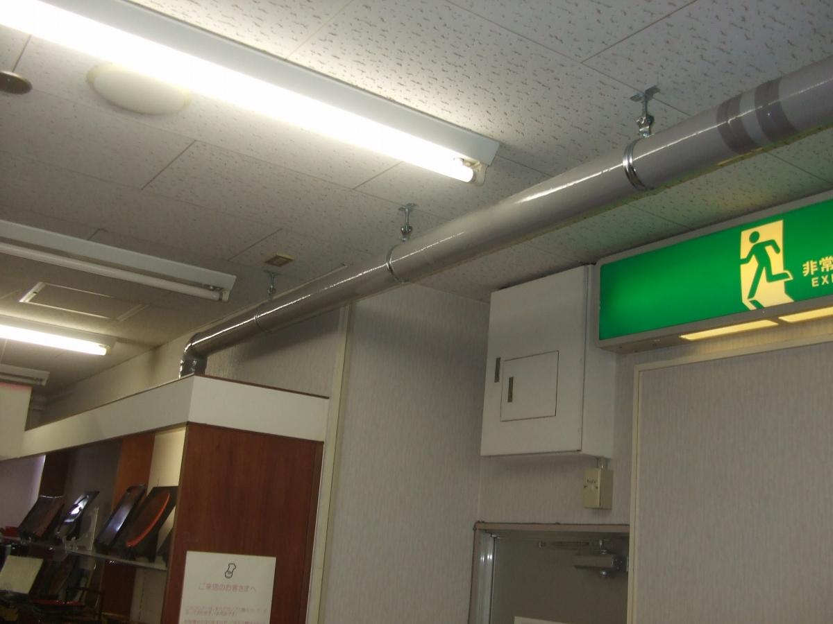排水は2階天井下を通ります