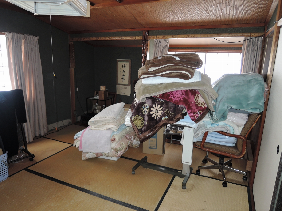 施工前 寝室