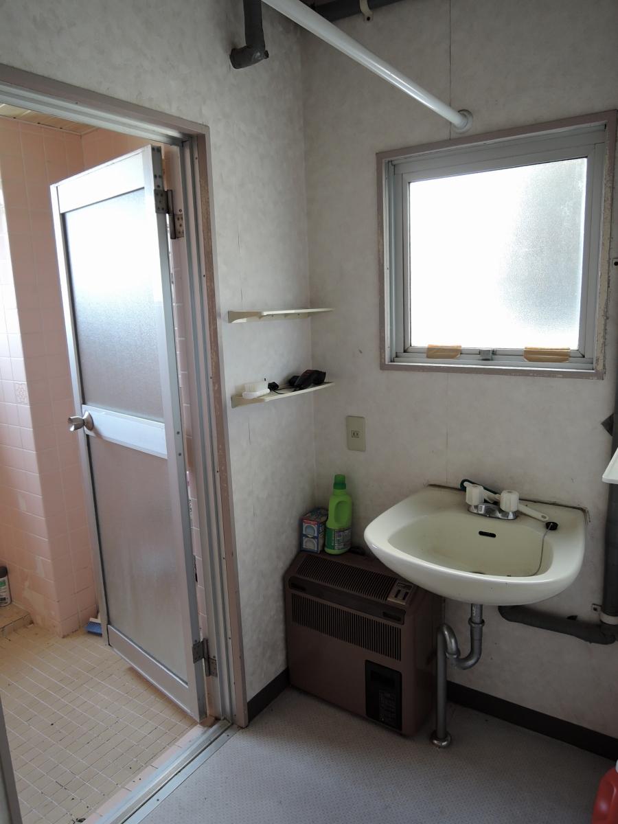 施工前 2階洗面脱衣室