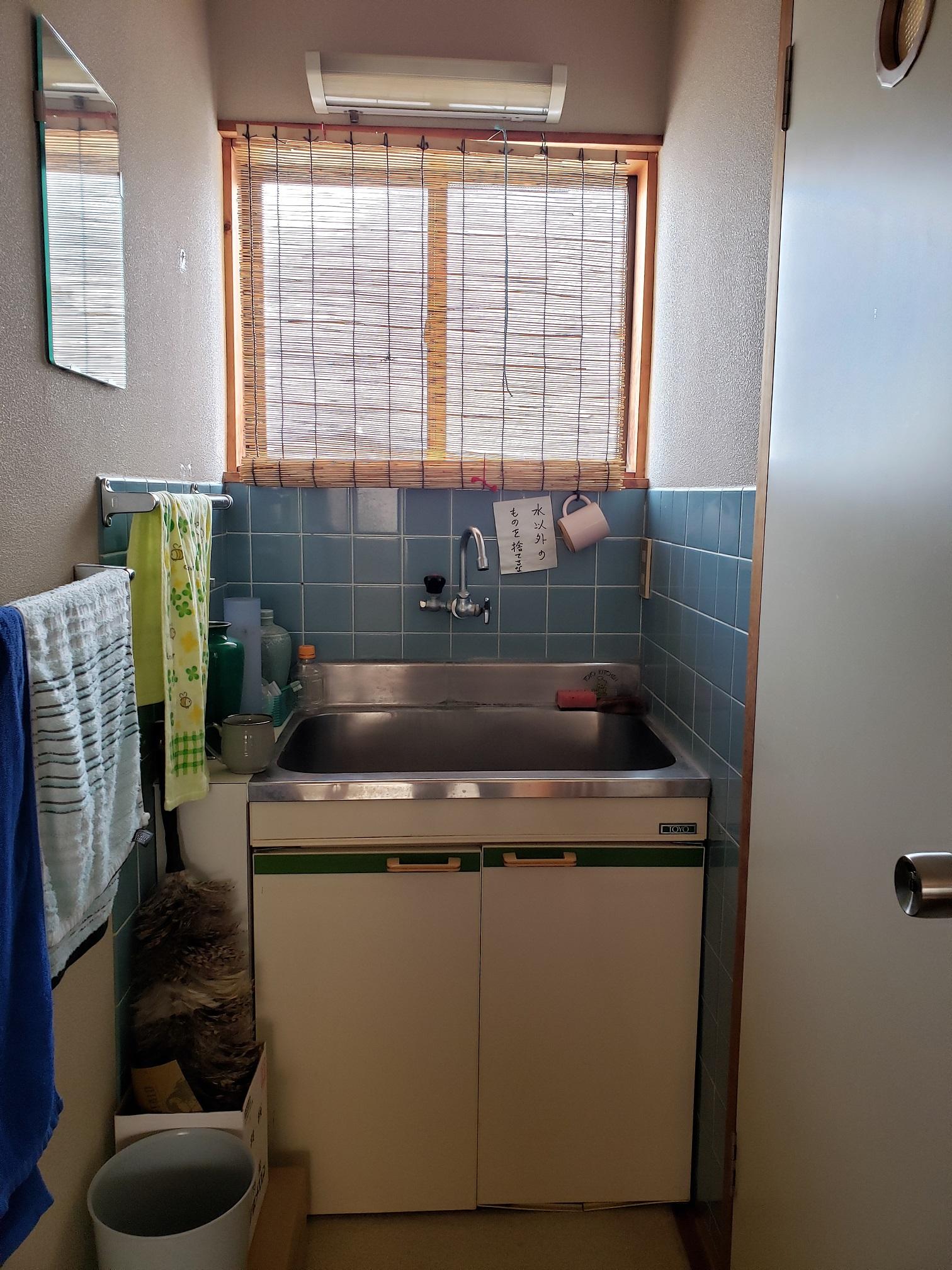 Before 老朽化してきた洗面台