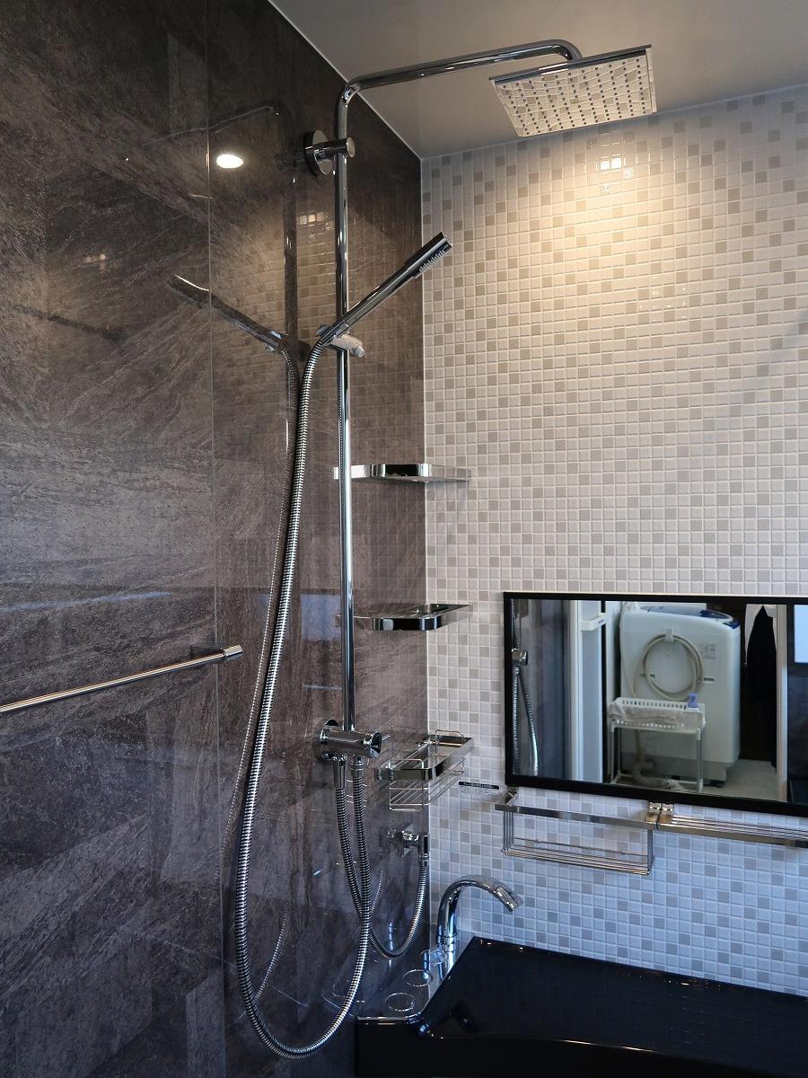 施工後 シャワー
