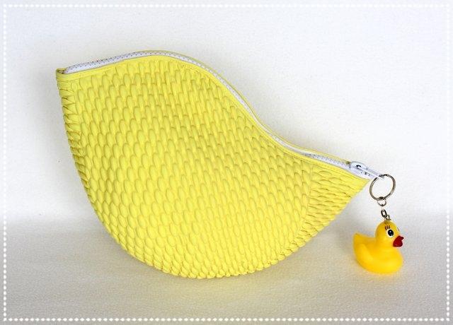 Badekappentasche gelb
