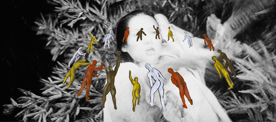 """Schwing deine Waffe  2006, grandezza variabile,  mixmedia,  Immagine 8 dalla serie """"Tiger und Drachen"""""""