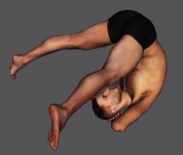 画像-1. 柔軟運動で首がギクッ!