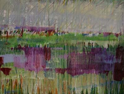 zonder titel 1, 80 x 60 cm acryl op doek