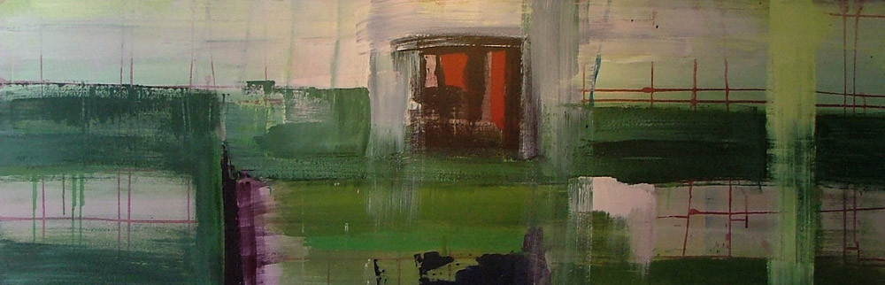 grofmazig 1, 180 x 60 cm acryl op doek
