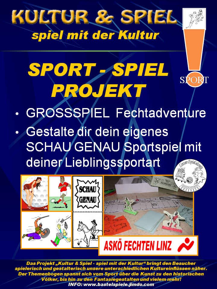 Spiel mit dem Sport