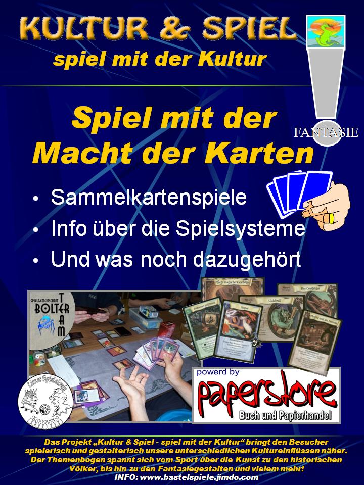 Spielkarten und Sammelkartenspiele ein Thema für sich