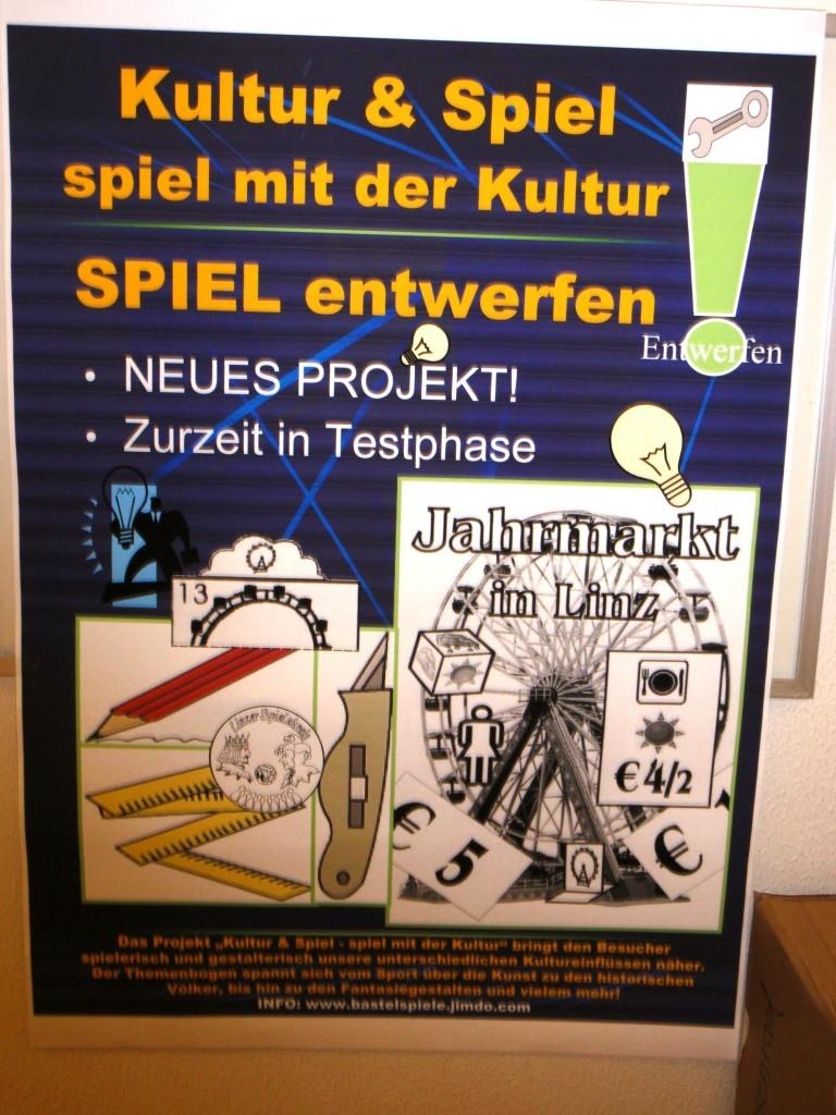 """Der Jahrmarkt in Linz ist ein eigenes """"KULTUR & SPIEL"""" Projekt geworden"""