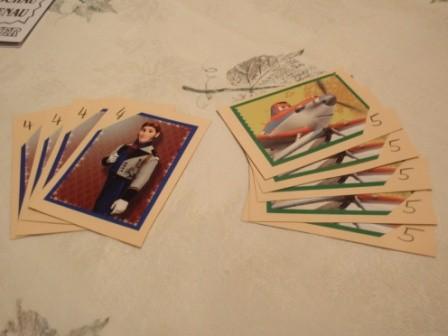 Vierfach- und Fünfachkarten nach dem basteln