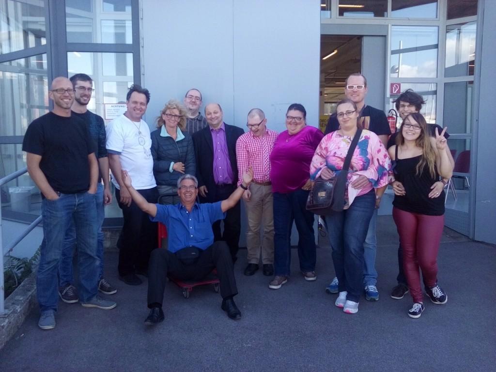 Ein Teil unseres OÖ-Team in Wien! Die Dreamlands mussten noch schwer wegräumen!