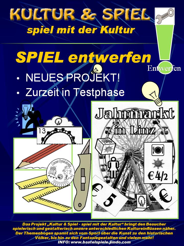 """Neues Projekt """"Jahrmarkt in Linz"""""""