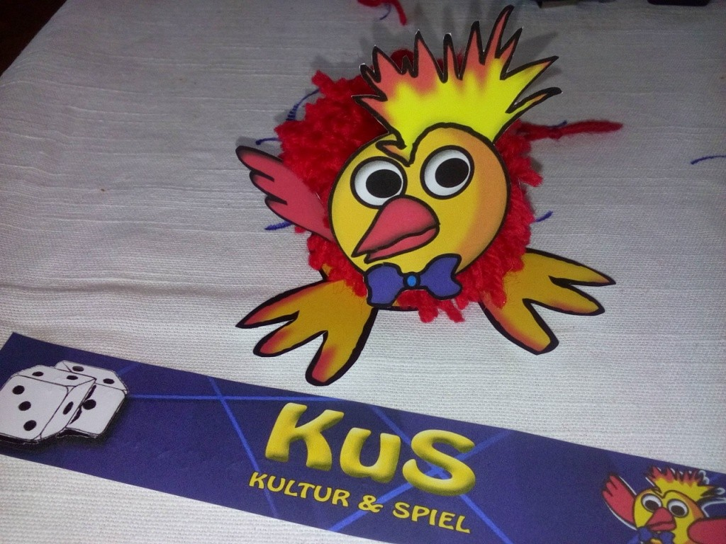 Auch KuS unser Maskotchen war wieder mit dabei!