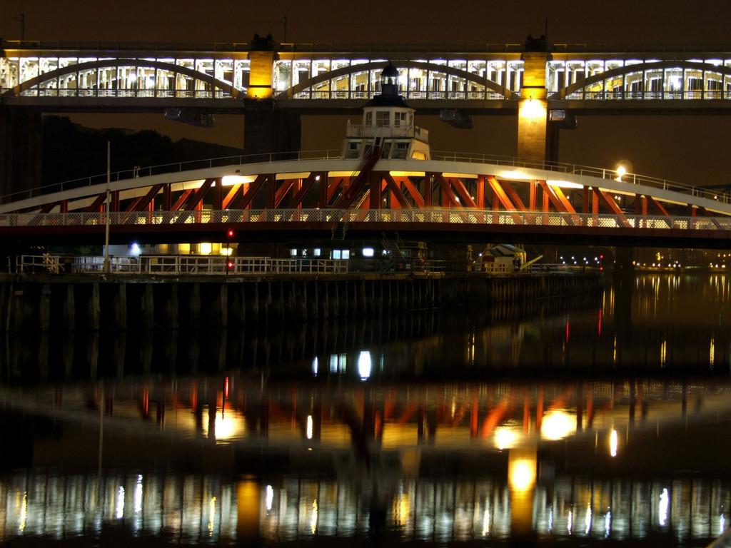 High Level and Swing Bridge