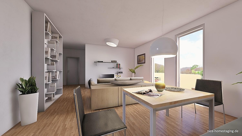 Durch Vorstellungskraft Neubau Immobilien schneller verkaufen