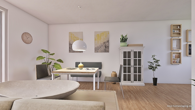 Virtuelles Homestaging in 3D Grundriss