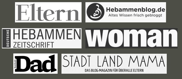 Eltern, Dad, woman, Deutsche Hebammen Zeitschrift und viele Andere empfehlen unsere bio Aromasprays für Baby, Mama, Kids und Grandmama