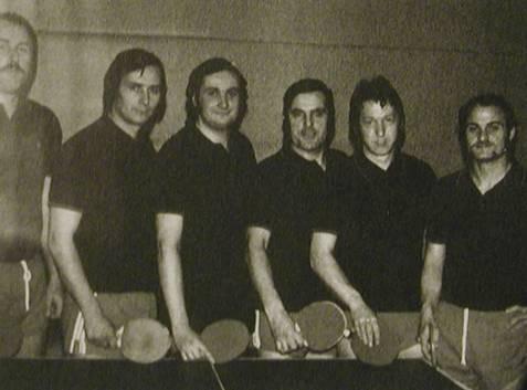 die erste Herrenmannschaft von 1971