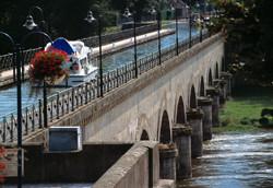 Balade au pont aqueduc à Digoin