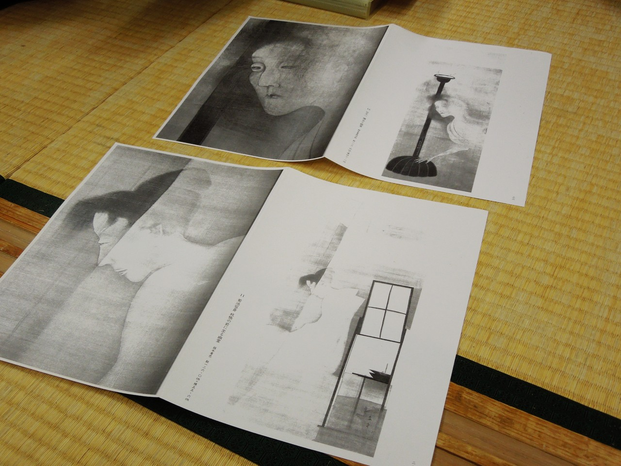 The image from Hijikata butoh-fu (1) Ghosts appear and disappear as if light and shadow