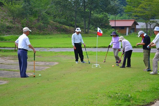 老連グラウンドゴルフ大会