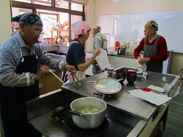男の簡単料理教室(因原)