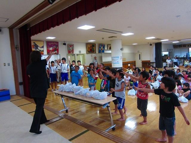 社協わんぱく子ども祭(じゃんけん大会)