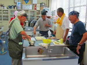 男の簡単料理教室(西)