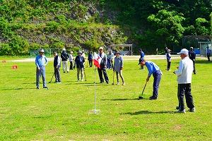 老連グラウンドゴルフ大会1