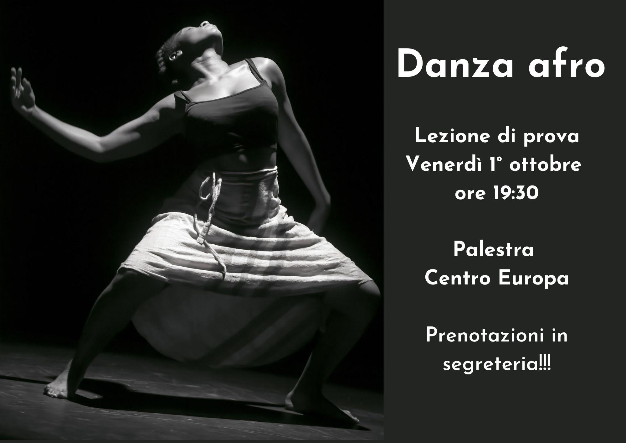 Lezione di prova di danza afro
