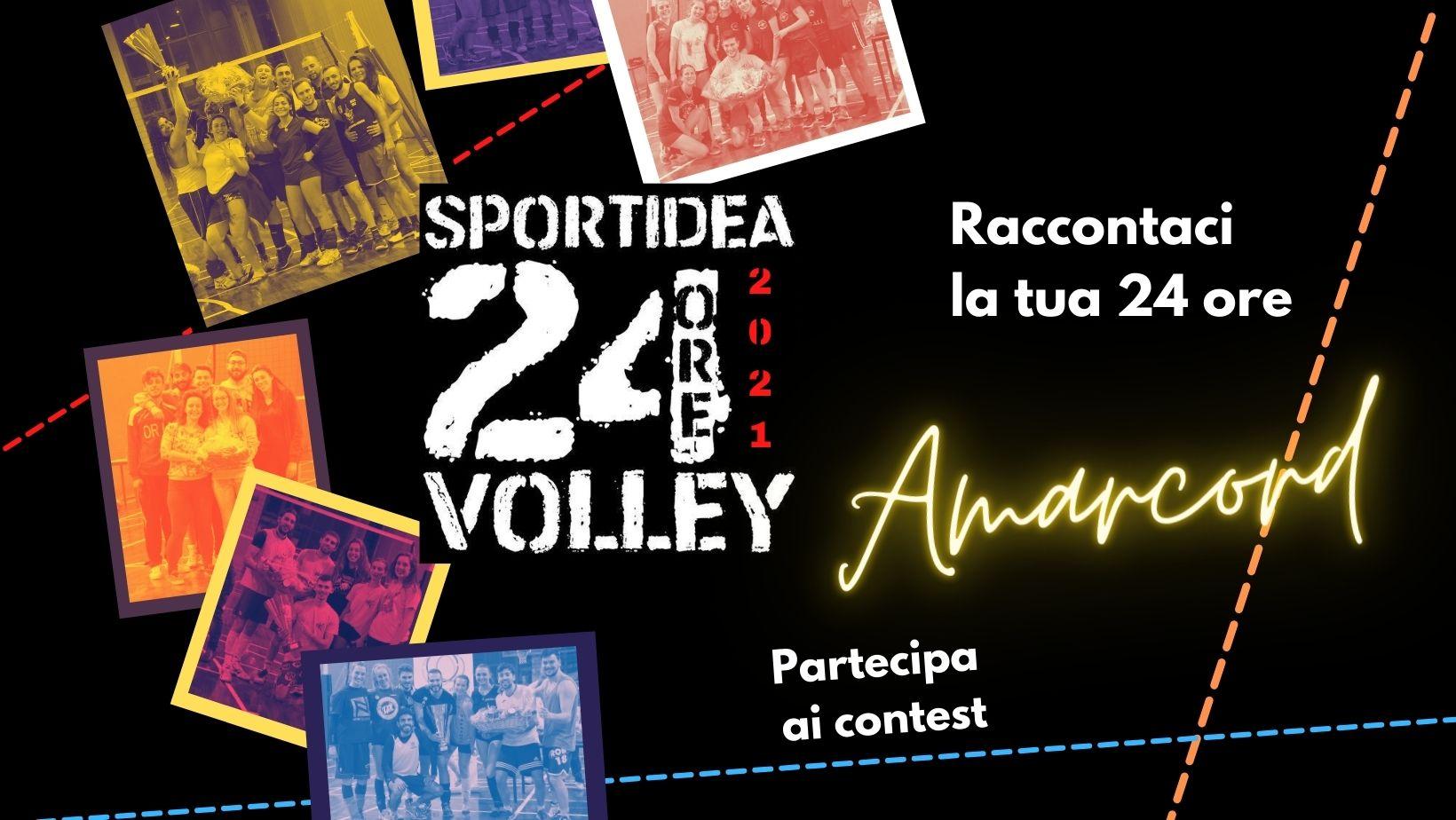 24 ore di pallavolo 2021: edizione Amarcord