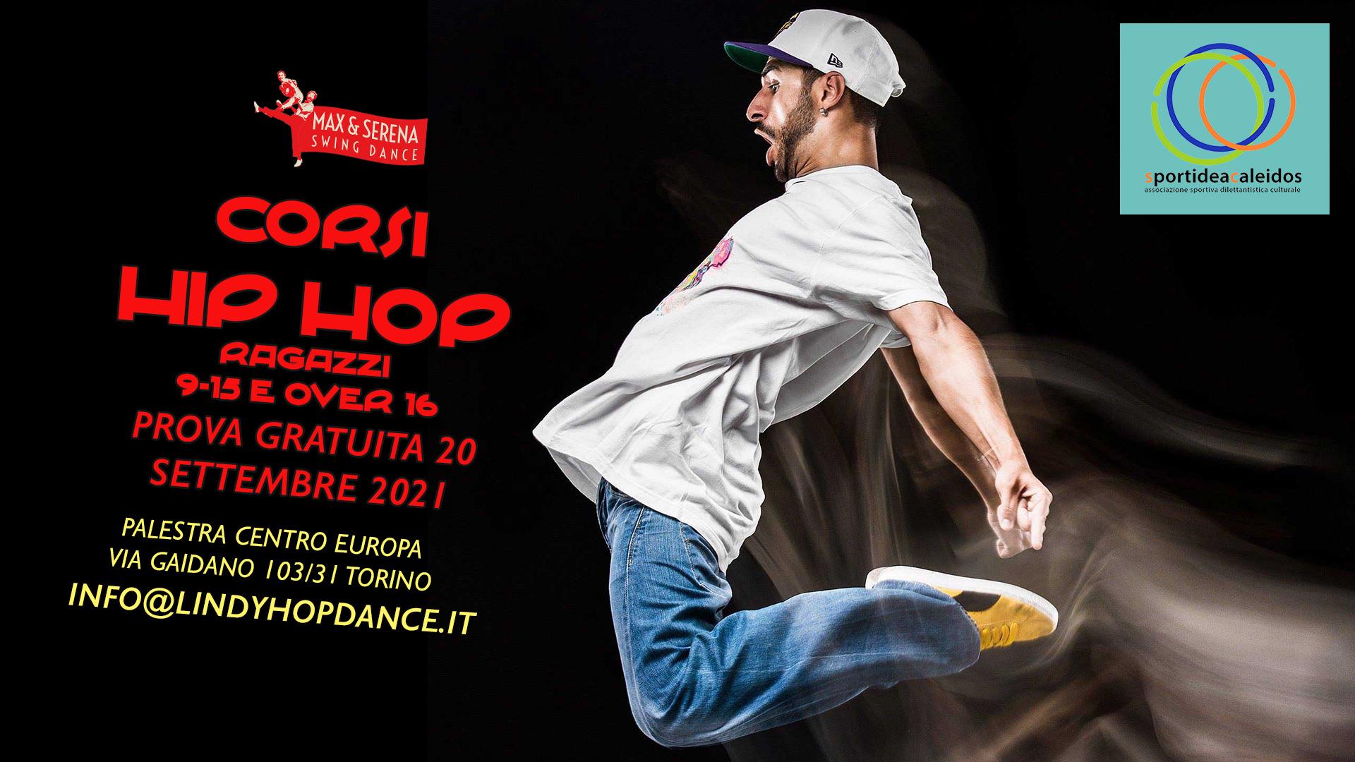 Hip Hop per ragazzi e giovani
