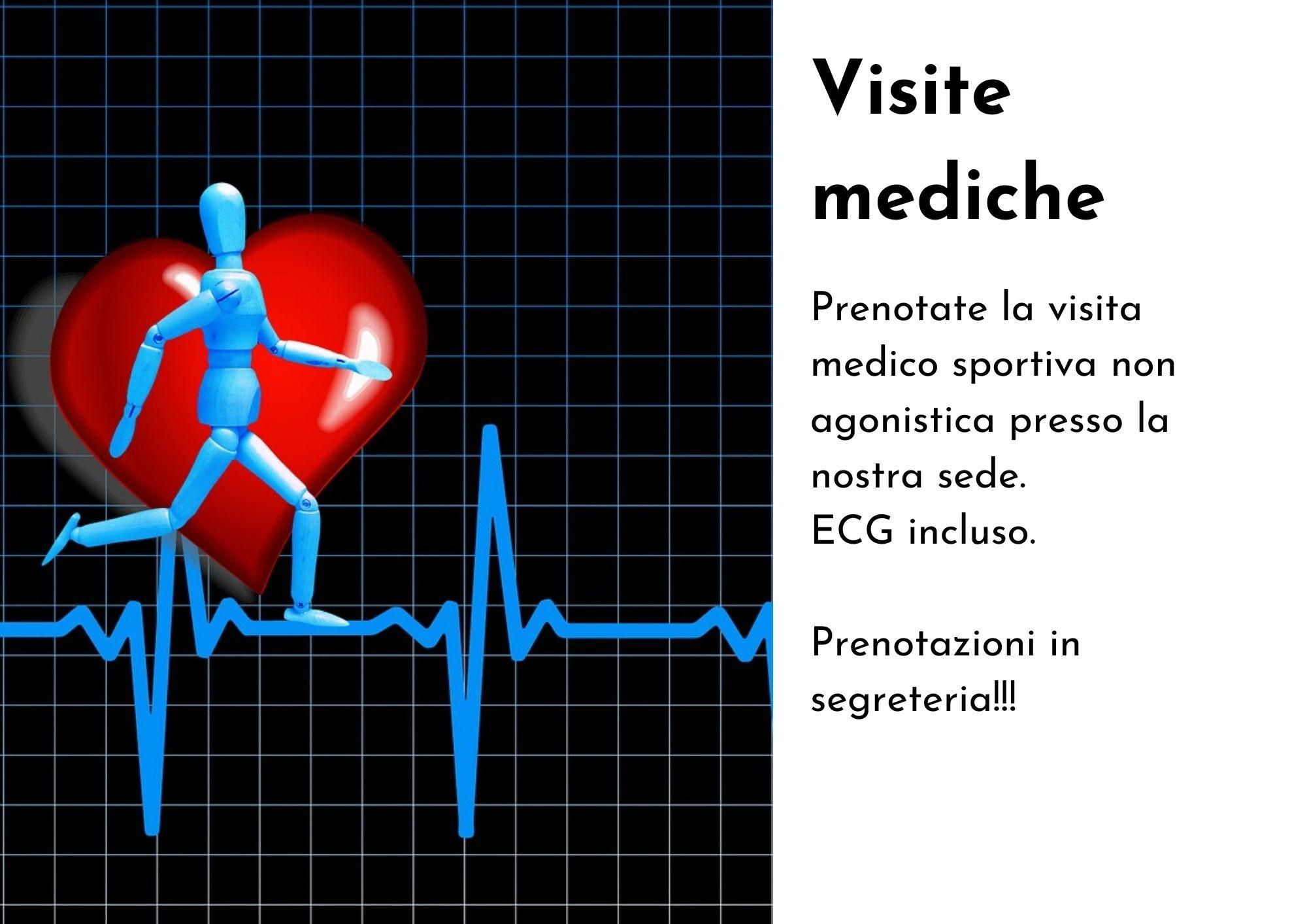 Visite medico sportive presso la nostra sede