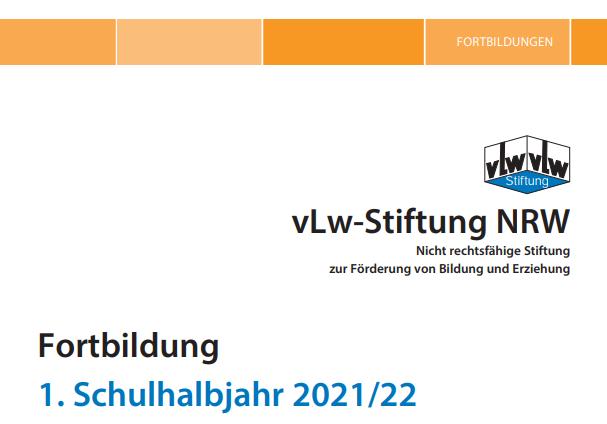 Online-Fortbildung in Kooperation mit dem VLW im Herbst 2021