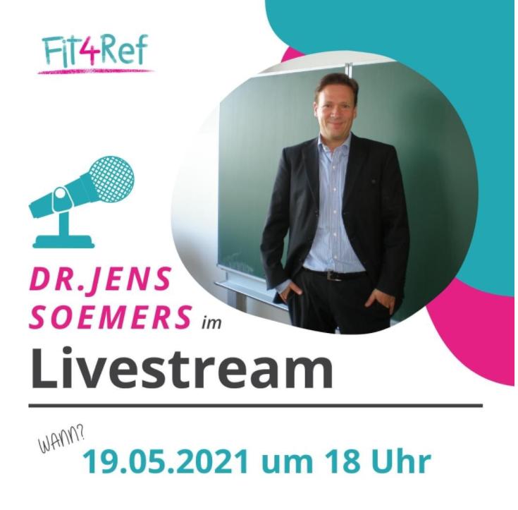 Livestream Lehrer*innen-Schüler*innen-Beziehungen bei Fit4Ref