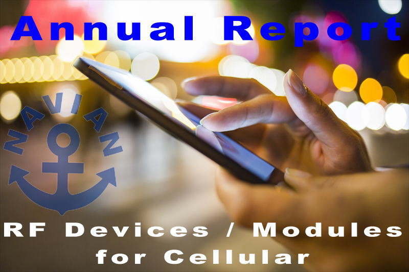 RF Devices / Modules For Cellular 2019-2020を発刊しました