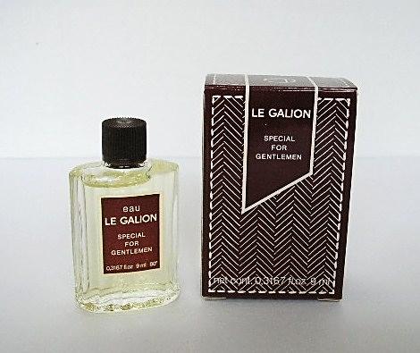 EAU LE GALION - SPECIAL FOR GENTLEMEN - 9 ML