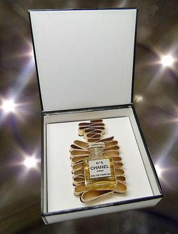 EDITION SPECIALE - 2012 - N° 5 EAU DE PARFUM : COFFRET OUVERT