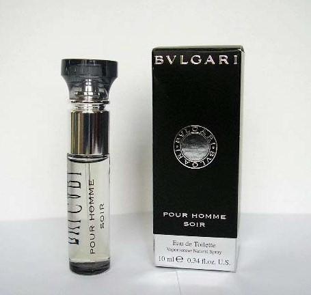 2006 - BVLGARI POUR HOMME SOIR - VAPORISATEUR EAU DE TOILETTE 10 ML