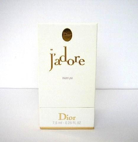 J'ADORE  - PARFUM 7,5 ML : LA BOÎTE