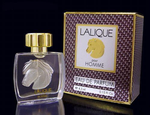 LALIQUE - MINIATURE EAU DE PARFUM 4,5 ML - LE CHEVAL ou EQUUS