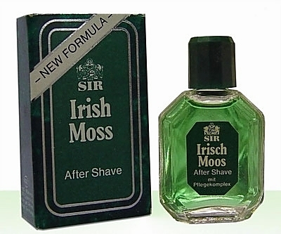 VARIANTE DANS LA PRESENTATION DE LA MINIATURE - SIR IRISH MOSS - AFTER SHAVE