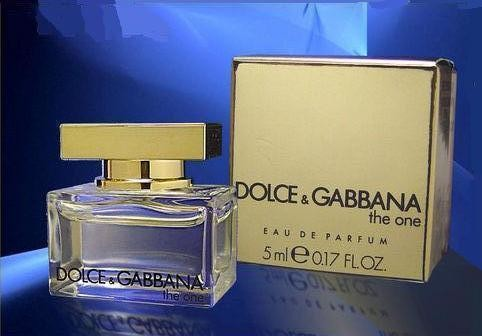 DOLCE & GABBANA THE ONE : EAU DE PARFUM 5 ML