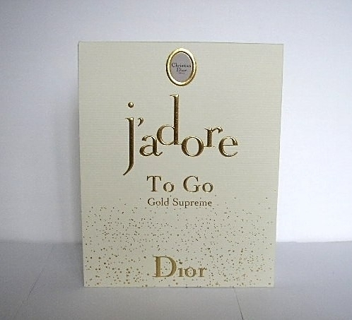 J'ADORE - TO GO , GOLD SUPREME PAILLETE - 15 ML